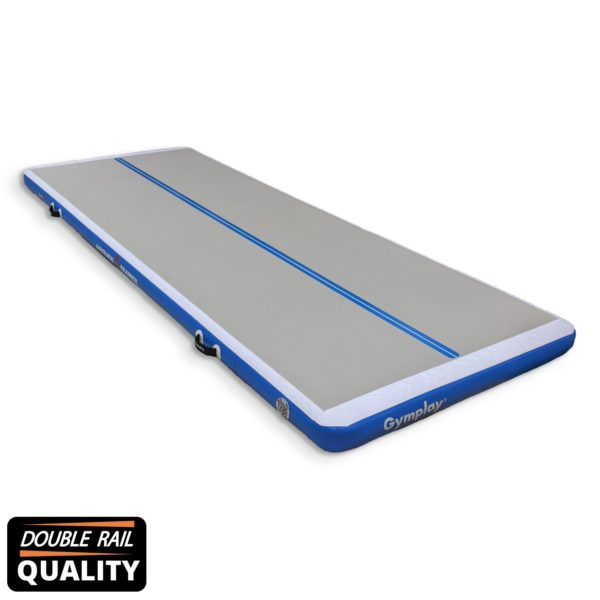h15 gymplay airtrack trainer blue Double Rail quality