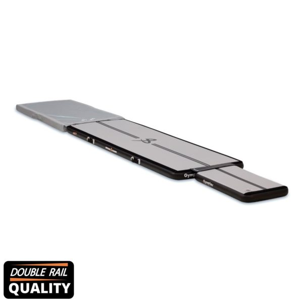 H10-airtrack-trainer-kit-ii-newblack-springboard-UP-double rail quality